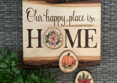 Our Happy Place is Home